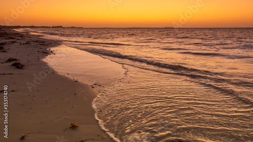 Obraz na plátně sunset at Jurian Bay western Australia