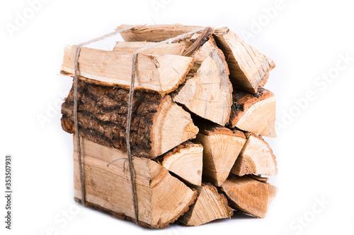 Valokuvatapetti Fire wood