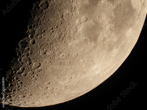 Moon Luna Księżyc