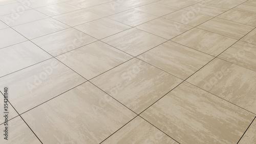 Foto pavimento di piastrelle in gres porcellanato beige tortora