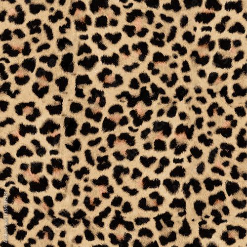 Wallpaper Mural leopard skin texture