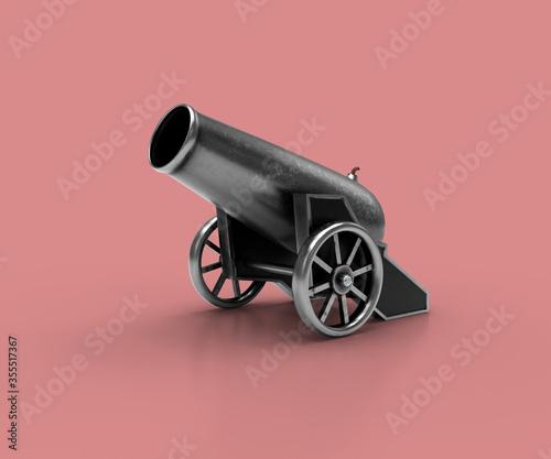 Fotografie, Obraz Ancient cannon
