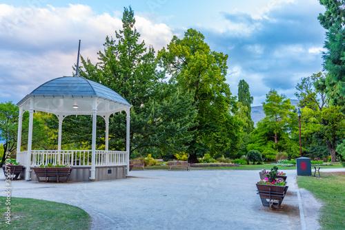 Cuadros en Lienzo Queenstown gardens park in New Zealand
