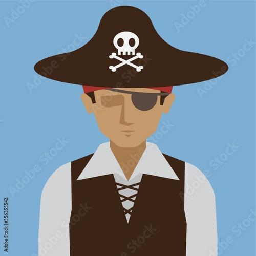 Stampa su Tela pirate
