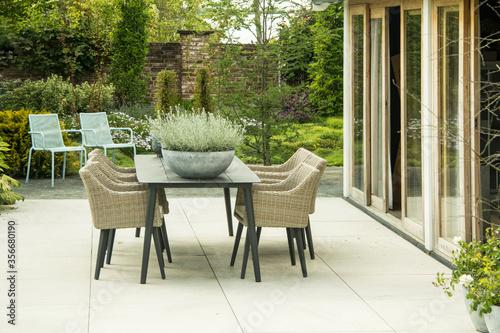Fotografía outdoor patio furniture