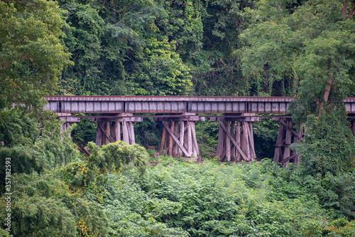 Canvas Print World War 2 railways Kanchanaburi Thailand