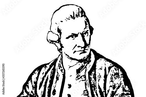 Slika na platnu Captain Cook