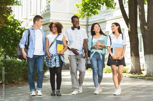 Stampa su Tela Students communication