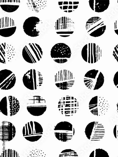Photo Polka Dot Pattern