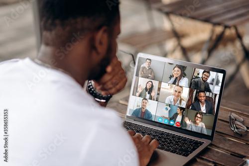 Video call Fotobehang