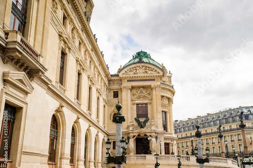 Foto It's Opera Garnier, an opera house in Paris, France