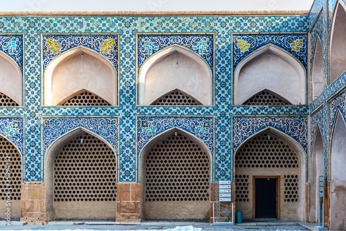 Obraz na plátně It's Jameh Mosque of Isfahan, Iran. This mosque was found in 771