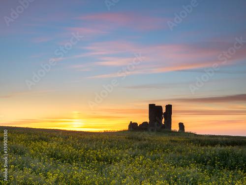 Foto Ruins of St James at Sunrise