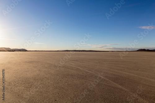 Wallpaper Mural Empty El Mirage dry lake bed in the Mojave desert region of scenic Southern California