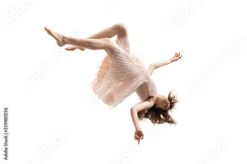 Canvas Print Mid-air beauty cought in moment