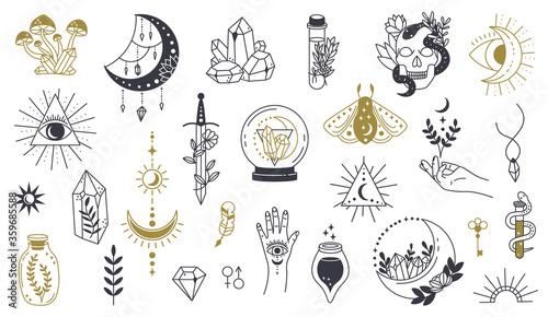 Fotografie, Obraz Magic doodle symbol