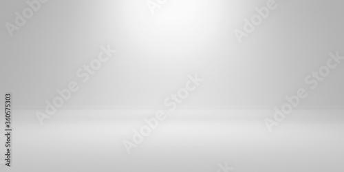 empty white background photo cyclorama