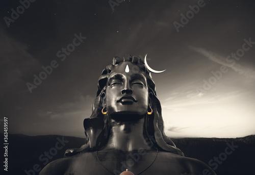 Wallpaper Mural Adiyogi statue, Isha foundation Coimbatore , tamil nadu, india, magnificent stru