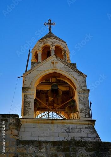 Obraz na płótnie bell tower of the church