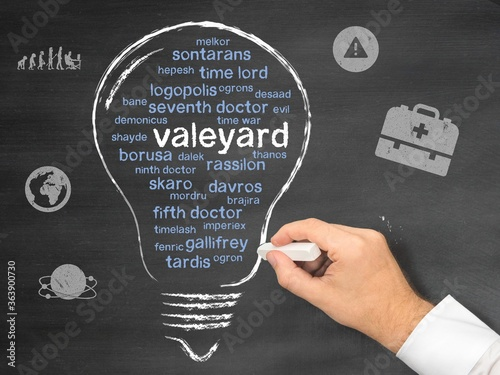 valeyard Fotobehang