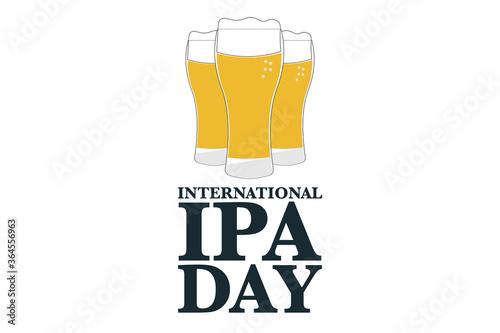 Obraz na plátně International Beer Day