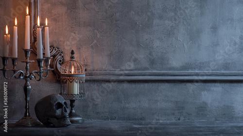 Fotografia, Obraz Mystical Halloween still-life background