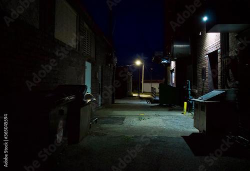 Obraz na płótnie Night Alley