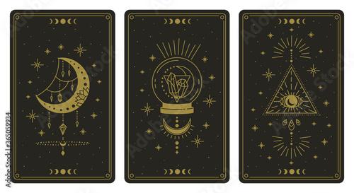 Fotografie, Obraz Magical tarot cards