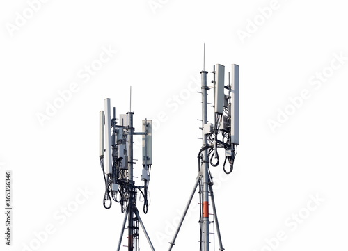 Cuadros en Lienzo Telecommunication tower of 4G and 5G cellular