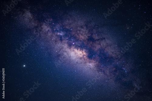 Fototapeta Galaxy milky way at night.