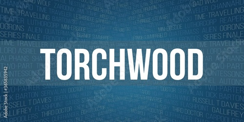 torchwood Fotobehang