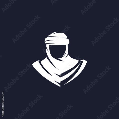 Obraz na plátně nomad silhouette logo