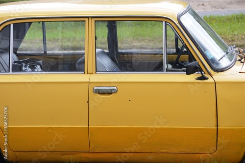 Photo yellow cab car