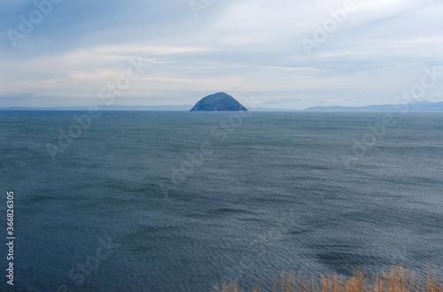 Ailsa Craig island in Scotland Fototapet