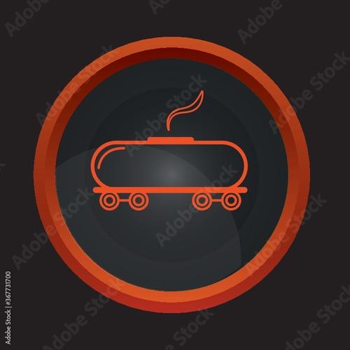 train barrow flame Fototapeta