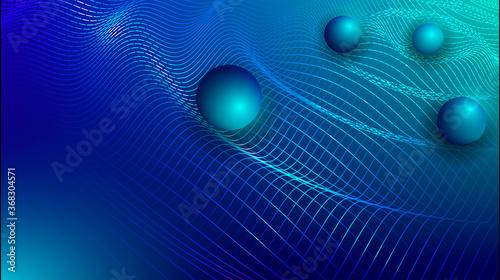 Canvastavla Gravity, gravitational waves concept