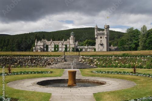 Fototapeta Balmoral Castle, Royal Deeside, Aberdeenshire, Scotland
