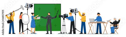 Fotografering Movie production scene