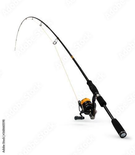 Fotografie, Obraz Spinning rod for fishing