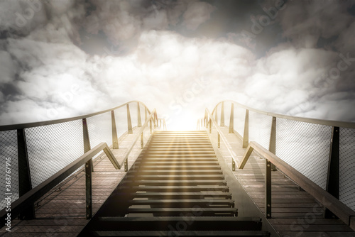 The stairs to heaven Fototapet