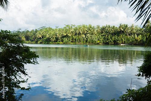 Obraz na plátně Green Canyon, Java, Indonesia