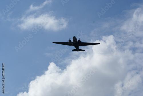 Fotografie, Obraz Douglas  Dakota C-47,  Military, transport, aircraft