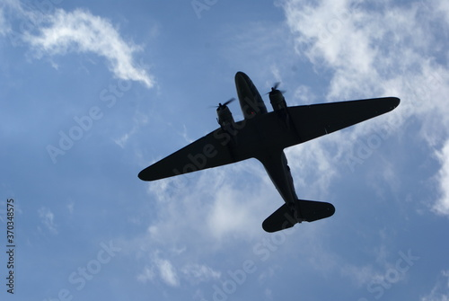 Платно Douglas  Dakota C-47,  Military, transport, aircraft