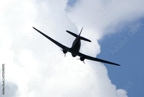 Fototapeta Douglas  Dakota C-47,  Military, transport, aircraft