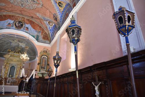 Carta da parati Confrérie Saint Antoine à Santa-Reparata-di-Balagna, Corse
