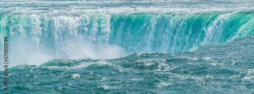 Obraz na płótnie Niagara falls closeup,  as if a sinking hole in the ocean.