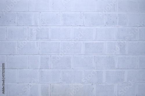 Fototapeta premium Beton wall. Brick wall. White and gray texture. Background.