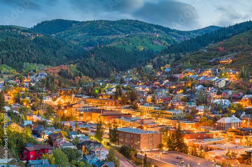 Obraz na płótnie Park City, Utah, USA