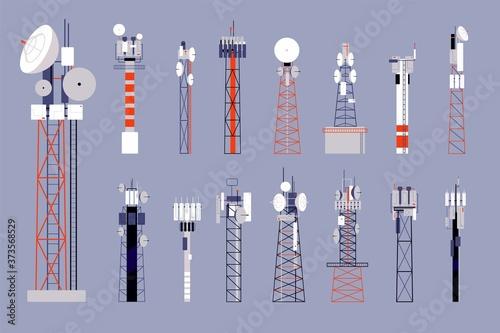 Foto Communication towers
