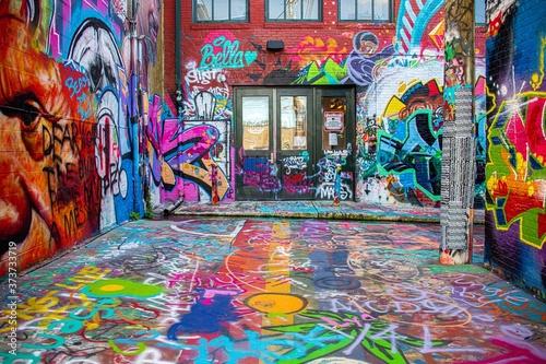 Street art in Baltimore, Maryland